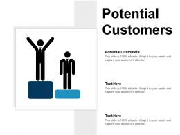 Potential Customers Ppt Powerpoint Presentation Infographic Template Portrait Cpb