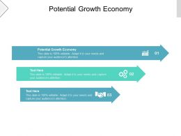 Potential Growth Economy Ppt Powerpoint Presentation Show Gallery Cpb