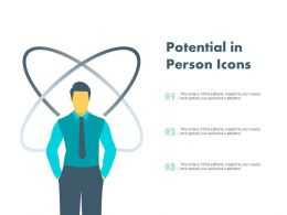 Potential In Person Icons