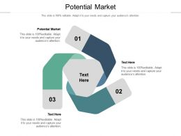 Potential Market Ppt Powerpoint Presentation Infographic Template Infographics Cpb