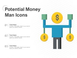 Potential Money Man Icons
