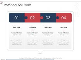 Potential Solutions Enterprise Scheme Administrative Synopsis Ppt Styles Backgrounds