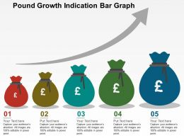 pound_growth_indication_bar_graph_flat_powerpoint_design_Slide01