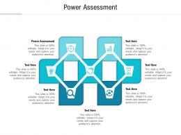 Power Assessment Ppt Powerpoint Presentation Ideas Deck Cpb