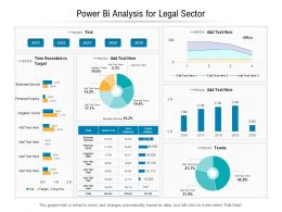 Power Bi Analysis For Legal Sector