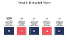 Power BI Embedded Pricing Ppt Powerpoint Presentation Icon Influencers Cpb