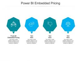 Power BI Embedded Pricing Ppt Powerpoint Presentation Outline Clipart Cpb