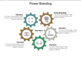 Power Branding Ppt Powerpoint Presentation Icon Example File Cpb