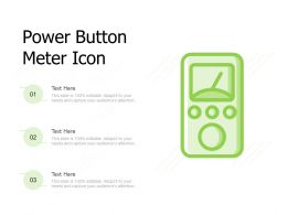 Power Button Meter Icon