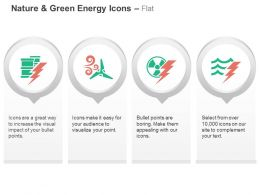 Power Drums Windmill Nuclear Power Production Ppt Icons Graphics
