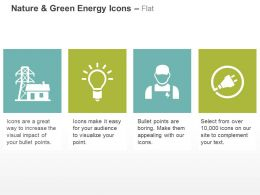 Power Grid Bulb Technician Power Plug Ppt Icons Graphics