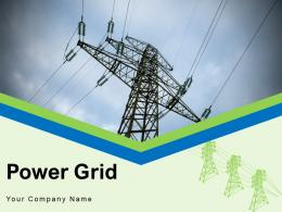 Power Grid Electrical Process Framework Production Transmission Analysis