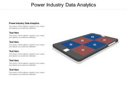 Power Industry Data Analytics Ppt Powerpoint Presentation File Templates Cpb