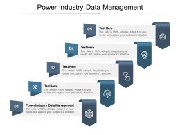 Power Industry Data Management Ppt Powerpoint Presentation Pictures Mockup Cpb