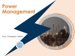Power Management Powerpoint Presentation Slides