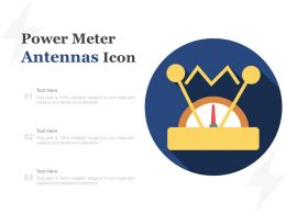 Power Meter Antennas Icon