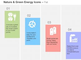 Power Plug Battery Charging Factory Ppt Icons Graphics