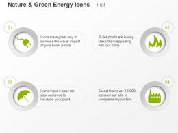 Power Plug Umbrella Fire Factory Ppt Icons Graphics