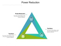Power Reduction Ppt Powerpoint Presentation Gallery Elements