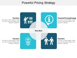 Powerful Pricing Strategy Ppt Powerpoint Presentation Ideas Graphics Example Cpb