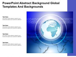 Powerpoint Abstract Background Global Templates And Backgrounds