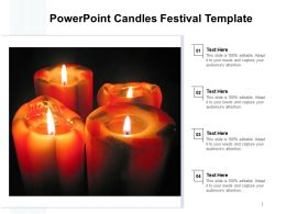 Powerpoint Candles Festival Template