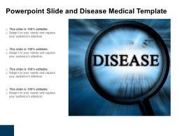 Powerpoint Disease Medical Template