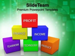 Powerpoint For Business Finance Support Pyramid Success Sales Ppt Presentation Slides