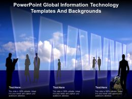 Powerpoint Global Information Technology Templates And Backgrounds