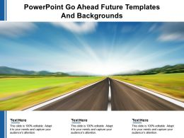 Powerpoint Go Ahead Future Templates And Backgrounds