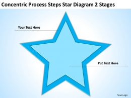 Powerpoint Graphics Business Star Diagram 2 Stages Templates PPT Backgrounds For Slides