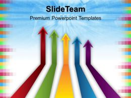 Powerpoint Graphics Business Templates Success Arrows01 Global Ppt Theme