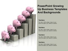 Powerpoint Growing Up Business Templates And Backgrounds