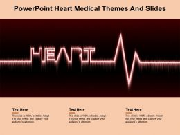 Powerpoint Heart Medical Themes And Slides
