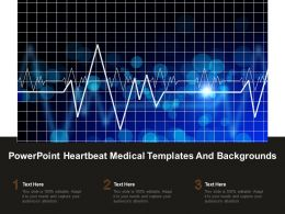 Powerpoint Heartbeat Medical Templates And Backgrounds
