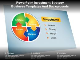 Powerpoint Investment Strategy Business Templates And Backgrounds