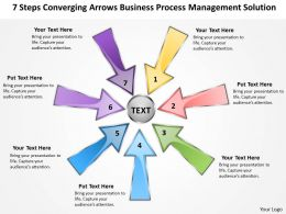 powerpoint presentations process management solution Cycle Flow Network templates