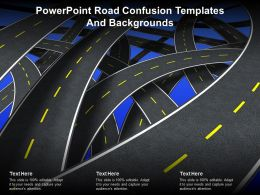 Powerpoint Road Confusion Templates And Backgrounds