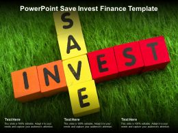 Powerpoint Save Invest Finance Template