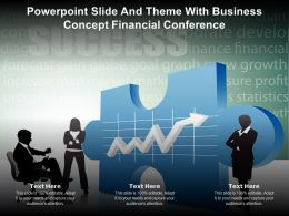 Powerpoint Slide And Theme With Business Concept Financial Conference Ppt Powerpoint