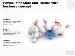 Powerpoint Slide And Theme With Business Concept