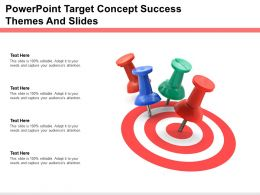 Powerpoint Target Concept Success Themes And Slides