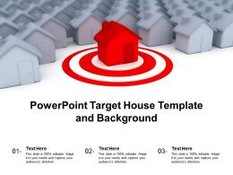 Powerpoint Target House Template And Background