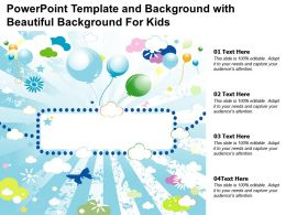 Powerpoint Template And Background With Beautiful Background For Kids