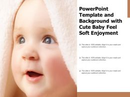 Powerpoint Template And Background With Cute Baby Feel