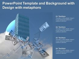 Powerpoint Template And Background With Design With Metaphors
