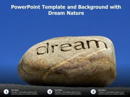 Powerpoint Template And Background With Dream Nature