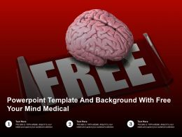 Powerpoint Template And Background With Free Your Mind Medical