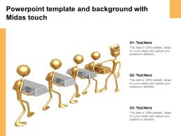 Powerpoint Template And Background With Midas Touch
