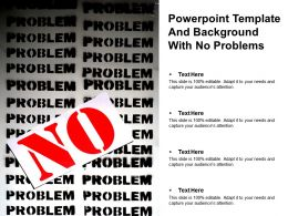 Powerpoint Template And Background With No Problems